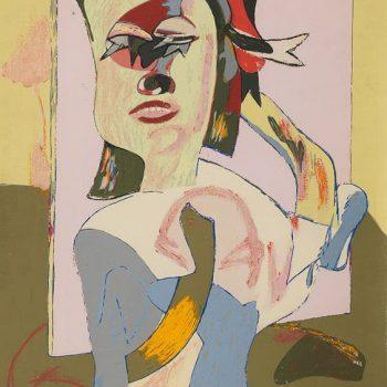 BARJOLA_Mujer con abanico