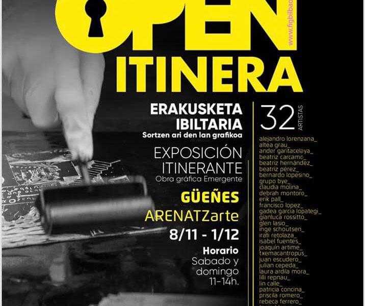 Open itinera negro